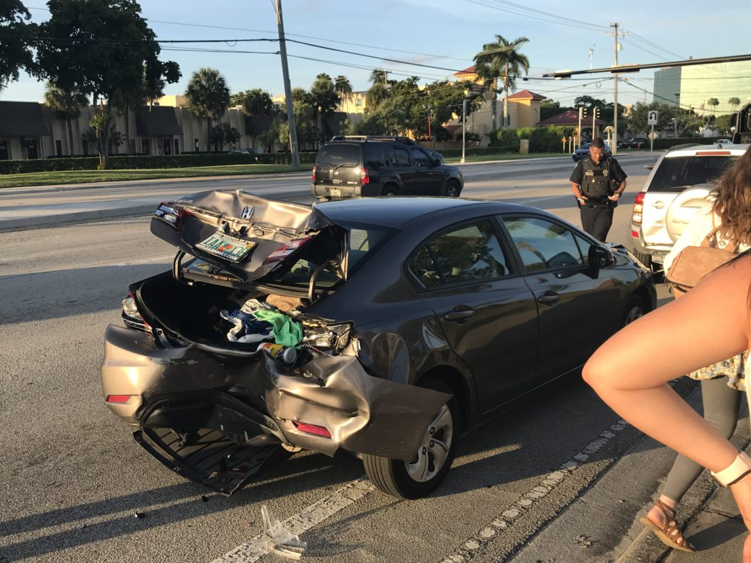 Car accident and Testimony in the making