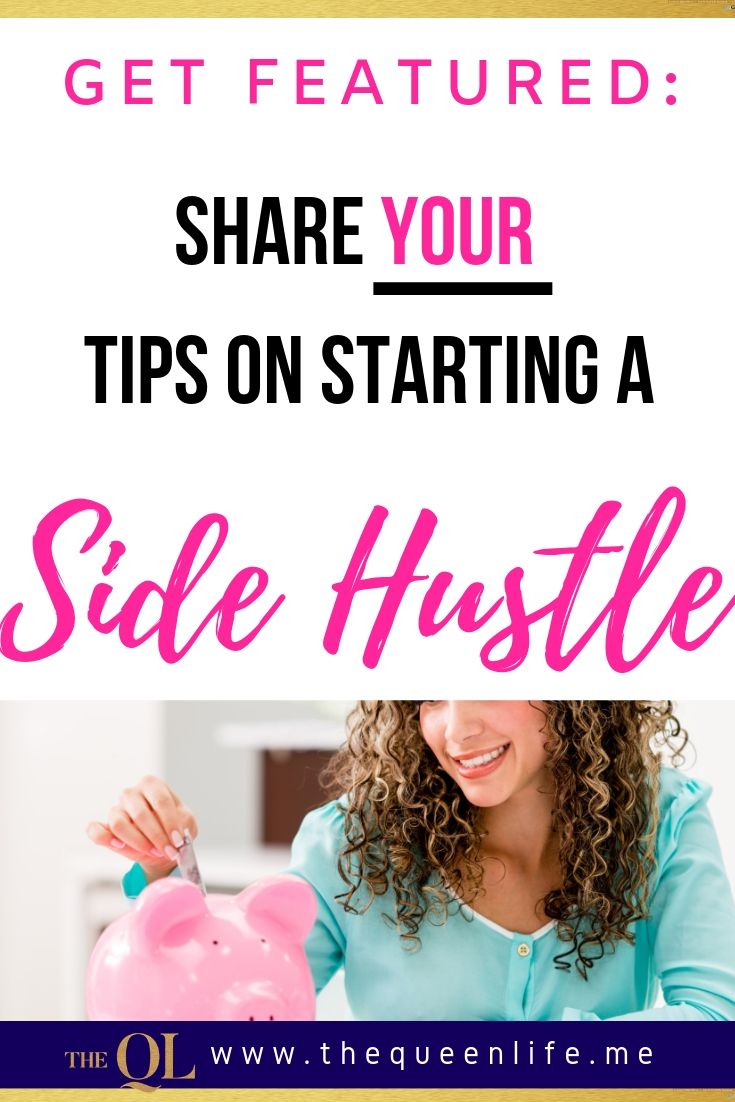 Have a side hustle that let's you make extra cash while at home? Share it here and get featured in an upcoming blog post.