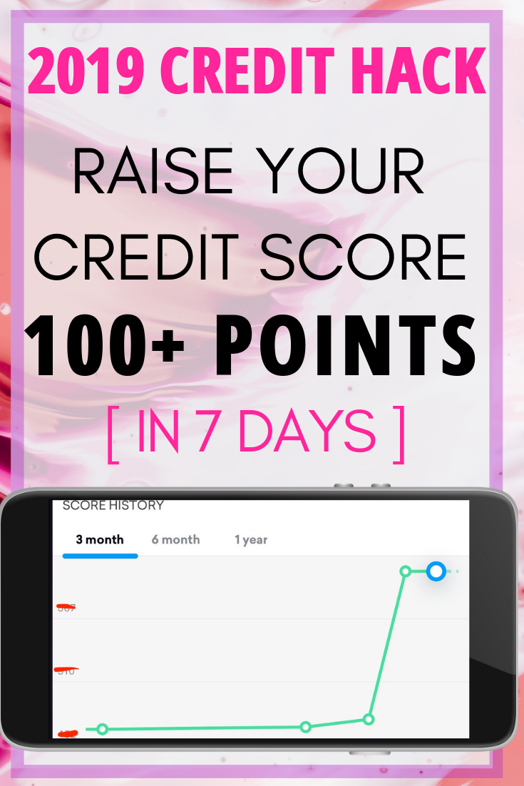 Want to raise your credit score? This credit hack helped us increase our credit score 100 points in 1 week. Give it a try to increase your credit score fast.