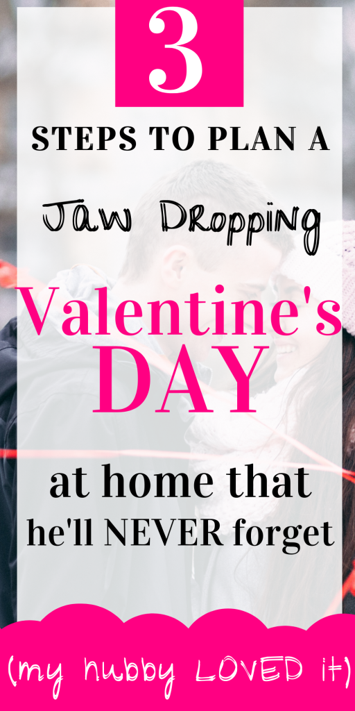 jaw dropping valentine's day at home Pin for pinterest