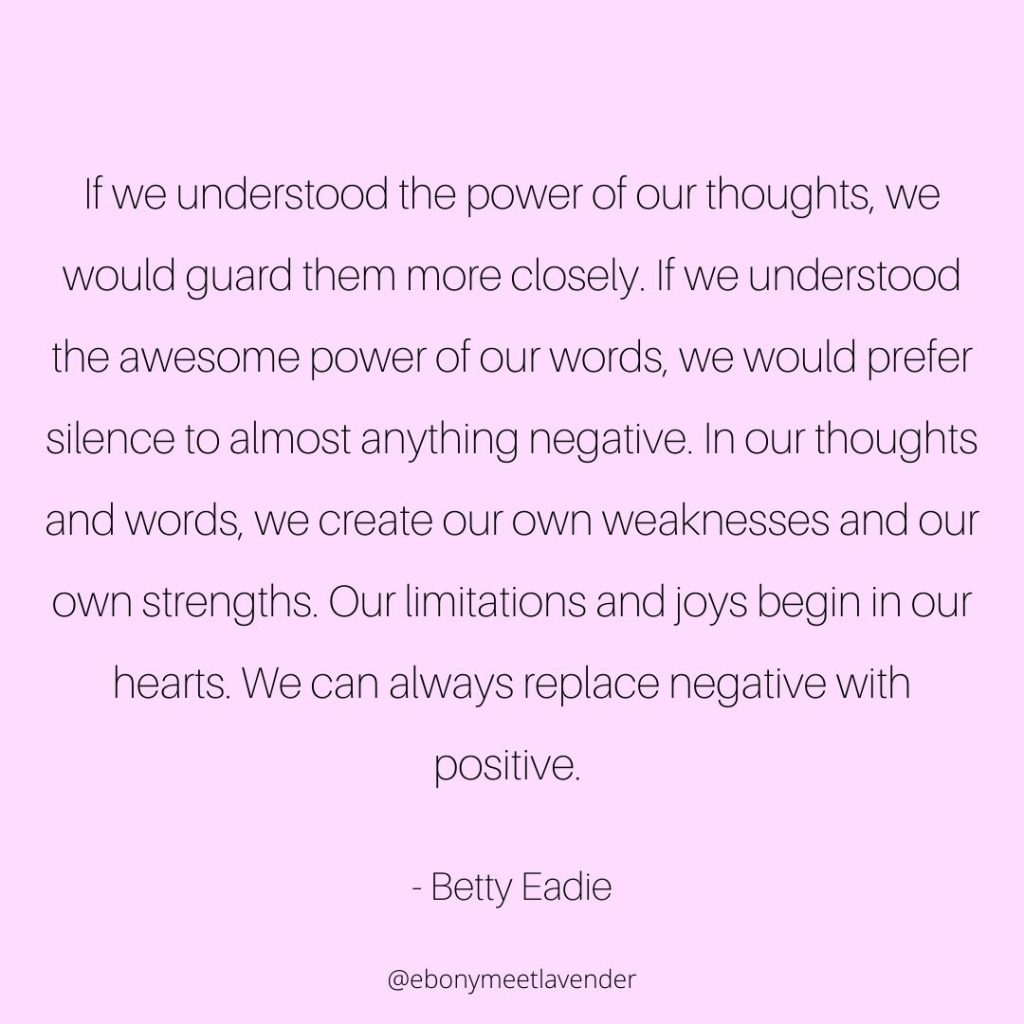 Quote from Betty Eadie for the Article Self Esteem Affirmations
