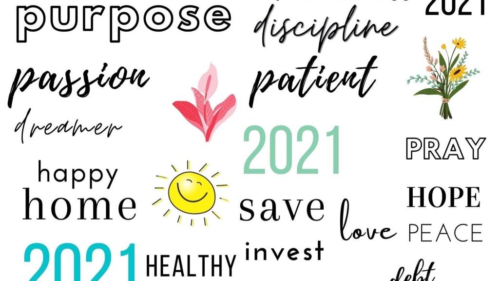 44 Inspiring Vision Board Printables + Vision Board Worksheet